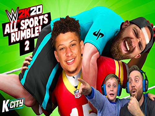 All Sports Royal Rumble 2! Dude Perfect, National Football League And Fifa In World Wrestling Entertainment 2k20!