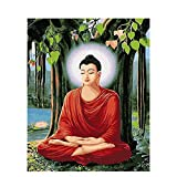 Cuadro de Buda Diy pintura por números figura lienzo por números pintura al óleo personalizada por n...