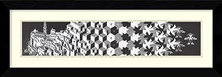 Framed Wall Art Print Metamorphosis l by M. C. Escher 40.38 x 14.38