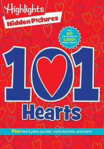 101 Hearts (Highlights Hidden Pictures 101 Activity Books)