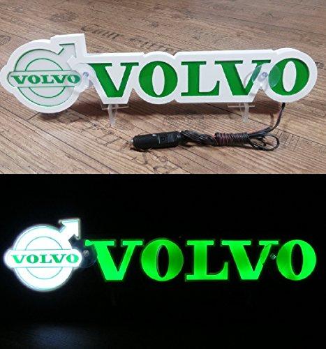 3d 24 V lumière LED Neon plaque pour Volvo Trucker Camion Vert Logo Sign Table illuminant Only Forward ? Ne pas déranger les faire tout en Conduisant