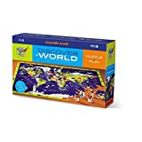 Bertoy 382920-1 Classic Box Discover Puzzle, World, 100 Piezas