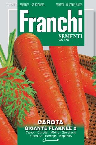 Seeds of Italy Ltd Franchi Carotte de Colmar