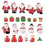 LIOOBO Accessoires de Noel Miniature Decoration de resine pour Maison de...