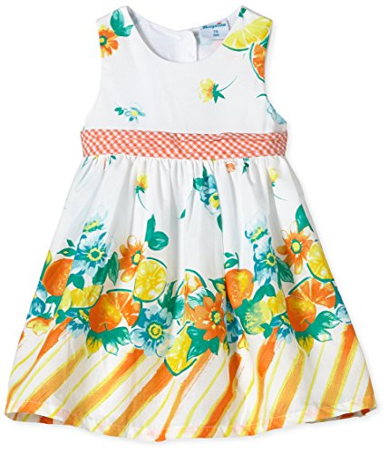 Pampolina - Vestido sin Mangas para niña, Talla 4 años (104 cm), Color (Allover)