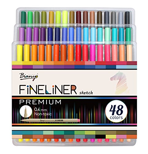 Bianyo 72 Pastel Colors Alcohol-Based Dual Tip Art Markers for Drawing, Coloring, Designing, Highlighting (Travel Case with Personalized Pocket)