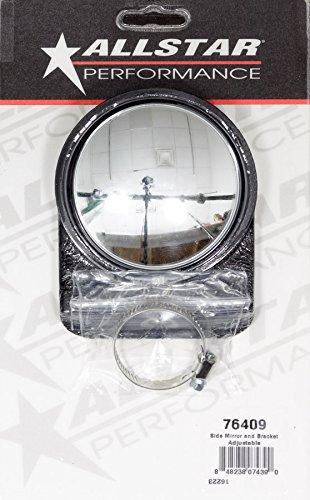 Allstar Performance ALL76409 espejo lateral y soporte, ajustable, 1 paquete