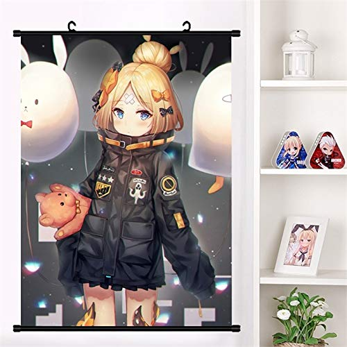 Fengdp Juego de Anime Fate/Grand Order Abigail Williams Lovely Wall Scroll Mural Poster Cartoon Wall Hanging Poster Home Decor Collection Tamaño: 60x90cm