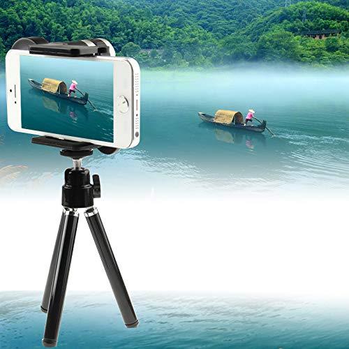 Tenedor de teléfono móvil 8X Lente de telescopio de Zoom Universal con trípode, para iPhone, Samsung, HTC, LG, Sony, Huawei, Lenovo, Xiaomi y Otros teléfonos Inteligentes