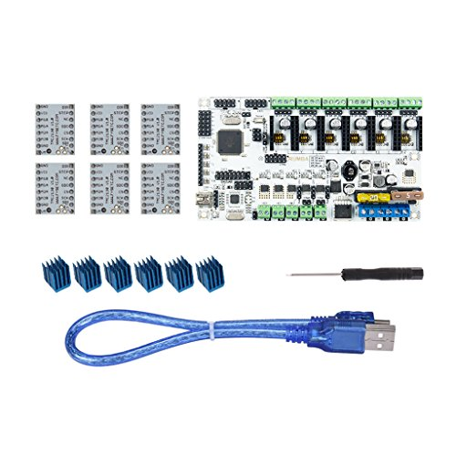 Baoblaze 3D Printer Motherboard Rumba+ Control Board+ TMC2130 Stepper Driver