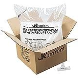KemYom - Relleno para Puff – Bolitas de Poliestireno Expandido de Gran Volumen y...