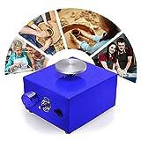 pant ruota per ceramica elettrica 6.5cm 10cm giradischi mini macchina per ceramica ruota per ceramica elettrica strumento per argilla fai-da-te con vassoio per adulti bambini ceramica art