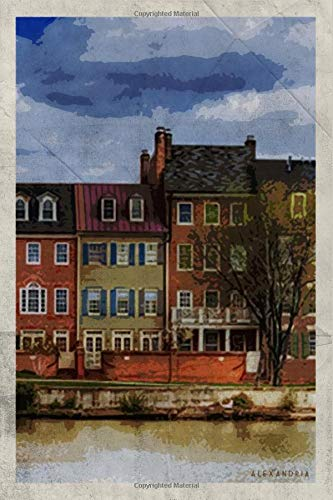 Alexandria: Notebook Journal Diary Planner - Virginia USA