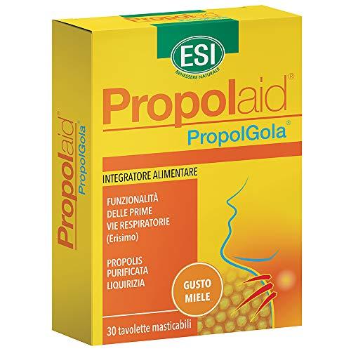 ESI Propolgola con MielComplemento Alimenticio - 30 Tabletas