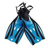 Stylelove 1 Paar Kinder Schwimmflossen Verstellbare Tauchflossen Silikon Team Training Schnorcheln...
