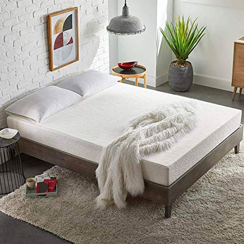 EARLY BIRD Essentials 8-Inch Medium Firm Memory Foam Mattress, Comfort Body Support, Bed in a Box, CertiPUR-US Certified, No Harmful Chemicals, Handcrafted in The USA, Full