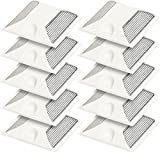 10 Pack Commercial Reflective Road Pavement Marker - Reflective Driveway Marker (White)