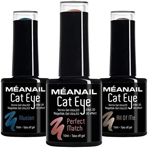 UV Nagellack Shellac Set Meanail® • Gellack Set Paris • UV Gel Set UV Nagellack Sets Maniküre + Pediküre • Nageldesign Nailart • Vegan&Cruelty free