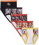 Disney Big 5-Pack Underwear Briefs, Incredibles Boys, 6