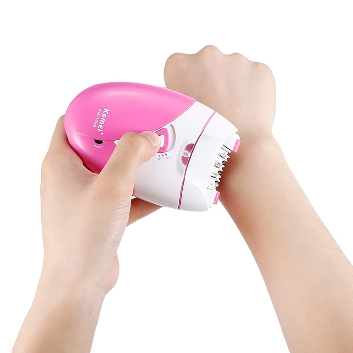 ミュウミュウ二次娘Trliy- Usb充電電動脱毛器、痛みのない脱毛器フェイシャルフェイスパーソナルケア美容機器ビキニボディ脇の下治療皮膚フラッシュかみそりシェーバートリマー