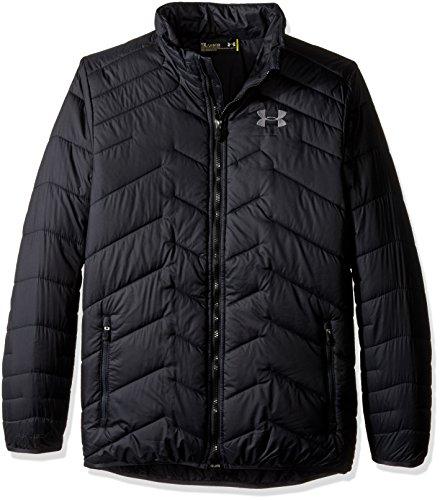 Under Armour Boys' UA ColdGear Jacket (Big Kids), Black (001)/Graphite, Youth Medium