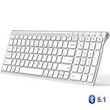 Best Ergonomic Keyboard For Macs - iClever Bluetooth Keyboard, Multi Device Keyboard Rechargeable Bluetooth Review