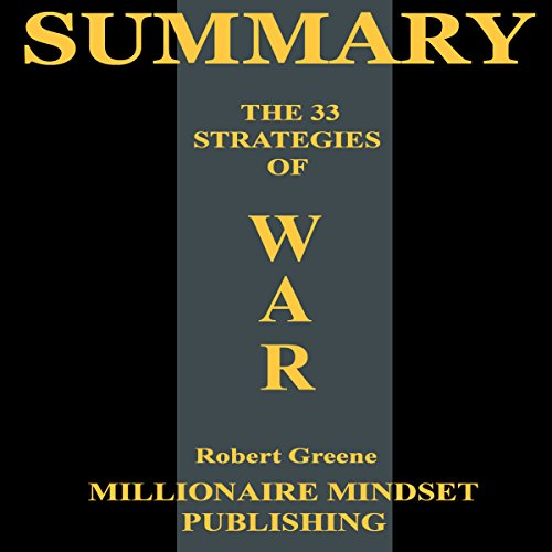 Summary: The 33 Strategies of War by Robert Greene audiobook cover art