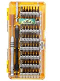 DOCOSS - 60 in 1-Precision Magnetic Screwdriver Set Kit with Superb S2 Steel 56 Bits Screw Driver...