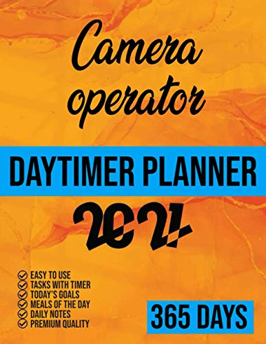 Quality control inspector Daytimer planner 2021: 365 Days planner, 2021 day minder monthly planner, dailyPlanner and Organizer 8.5x11, Task with timer, Goals, Meals, Notes