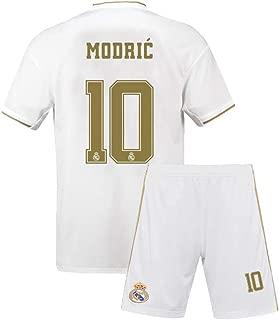 Youth Modric Jersey #10 Real Madrid Kids 2019/20 Home Soccer Luka