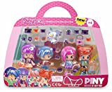Pinypon by PINY Set de Cuatro muñecas, Multicolor (Famosa 700012916)