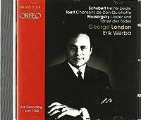 Heine Lieder; Chansons De Don by SCHUBERT / IBERT / MUSSORGSKY / D (2010-01-26)