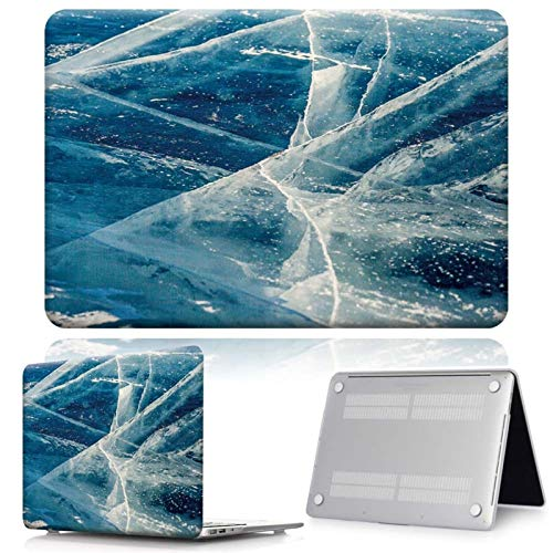 WSY For Apple MacBook Air Pro Retina 11 12 13 15 & New Air 13 / Pro 13 15 Touch Bar Various Marble Hard Shell Laptop Case (Color : Blue marble, Size : Pro 13 A1706 A1989)