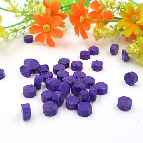 BTKNOO 500 Stück Vintage Siegel Wachs Tablette Pille Perlen Granulat Getreide Schmelzen für Stempel Umschlag Einladung Wachs Siegel DIY Dekor, 6