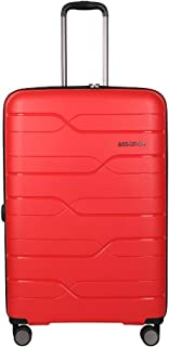 United Colors of Benetton Polypropylene 78.5 cms Red Hardsided Check-in Luggage (0IP6MP28HL07I)