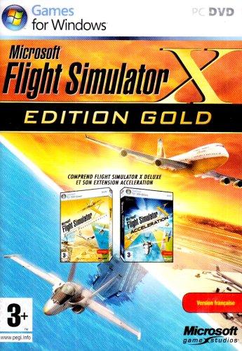 Flight Simulator X Gold Edition [Importación francesa]