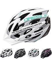 meteor® fietshelm heren dames kinderhelm MTB scooter helm helmet voor downhill scheidingshelm mountainbike inliner skatehelm BMX fietshelm jongens meisjes Fahrradhelmet bike Drizzle