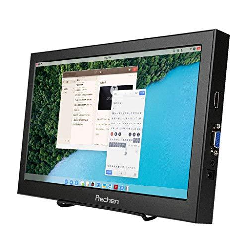Monitor portátil pequeño de 11,6 Pulgadas, 1366 x 768, CCTV, HDMI VGA, Altavoz Incorporado, pequeño Monitor para PS3, PS4, Xbox360, Windows 7, 8, 10, Prechen