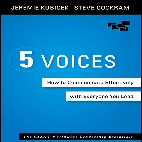 5 Voices audiobook cover art