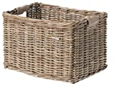 Basil Dorset Panier de vélo Mixte Adulte, Nature Grey, Grand
