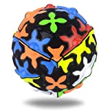 Speed Cube,SHONCO Sphere Puzzles Magic Ball Brain Teasers Toy,360 Degree Rotating Three-Dimensional Gear Cube,Magic Cube Fidget Toy for Kids and Adults