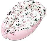 Baby Nest Pod Cojín Cocoon Bed Recién nacido Sleeping Pod Travel Cuna Cama Colchón Tumbona Colchón de espuma de algodón transpirable hipoalergénico