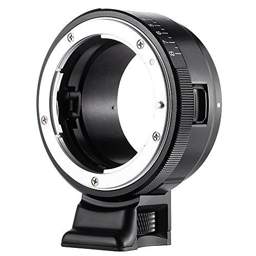 VILTROX NF-NEX Anillo Adaptador de Montura para Lente Nikon G/F/AI/S/D a cámara Sony E Mount A7, A7R, NEX-5, NEX-5, NEX-5N, NEX-C3, NEX-5R, NEX-F3, NEX-6, NEX-7, NEX-VG10, VG20, VG30