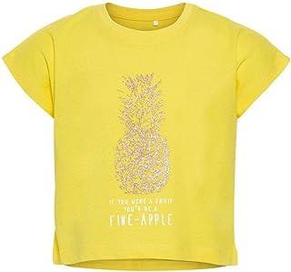 bebd00faccf16 Name It Nkfvilma Capsl Crop Top H T-Shirt Fille