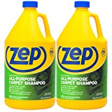 Zep All Purpose Carpet Shampoo ZUCEC128 (Pack of 2) Concentrated Formula