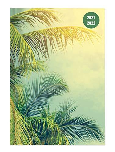 Alpha Edition - Diario Agenda Scuola Collegetimer 2021/2022, Giornaliera, 15x21 cm, Tropical Dream, 352 pagine