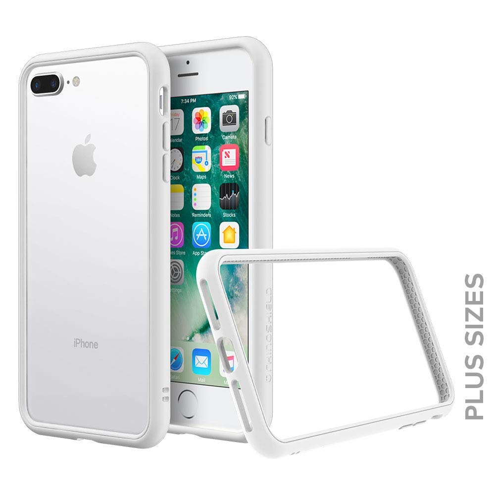 RhinoShield Bumper for iPhone 8 Plus / 7 Plus [CrashGuard NX ...