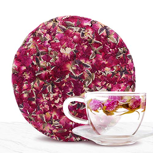 SFXFJ Rose Buds & Petals Tea, Blooming Tea, Flowering Tea, 7OZ Makes 50 Cups, Gift for Tea Lovers, Best for Tea, Baking, Making Rose Water