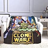 Baby_Yoda Blanket Soft Blankets Movie Characters Worm Plush Fleece Throw Blankets for Winter Bedding and Couch,40x60inch ( 100x150cm )