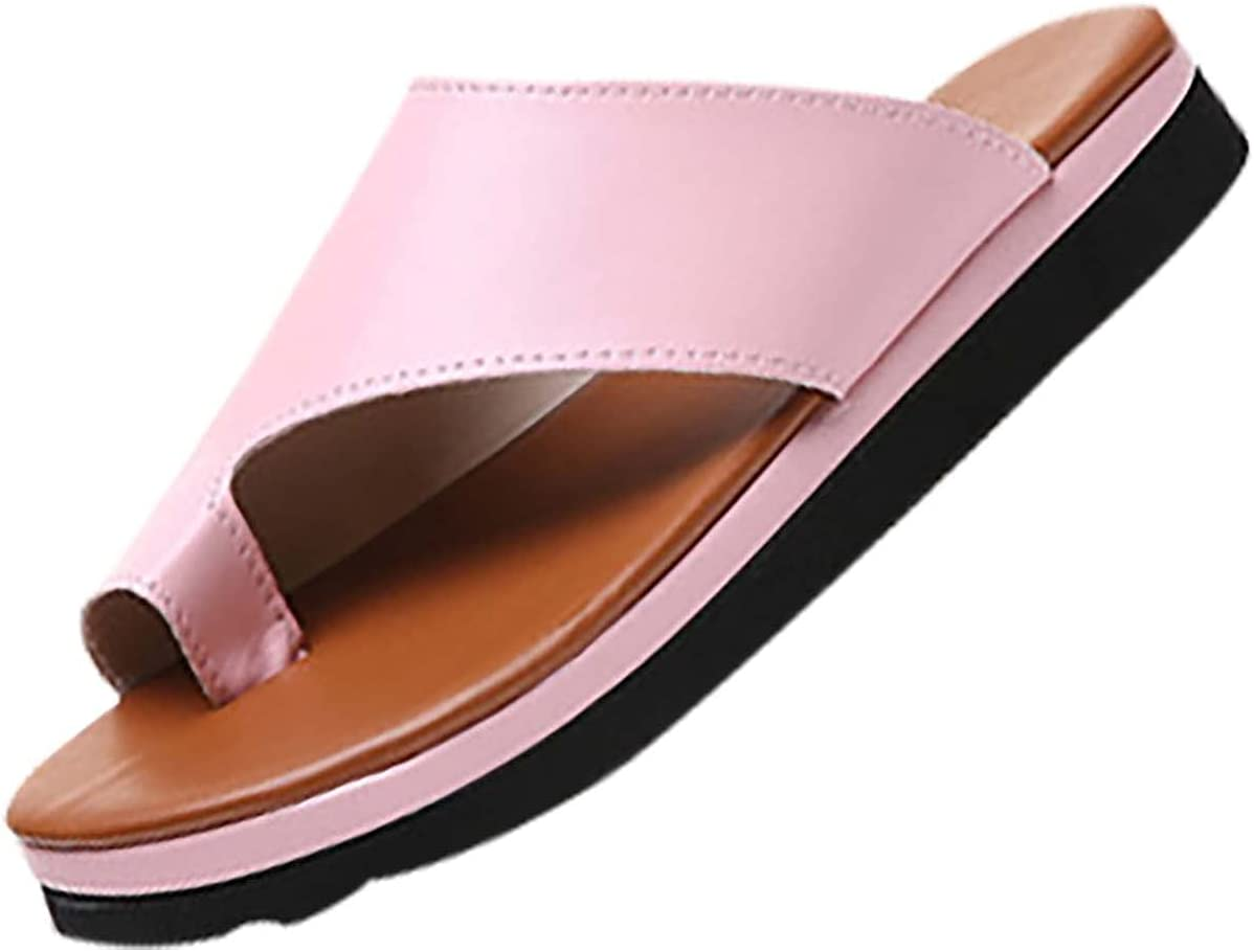 XUELIXIANG Ladies Flat Sandals Dressy New Plus Sales of SALE items from new works Summer 2021 Size Slipp